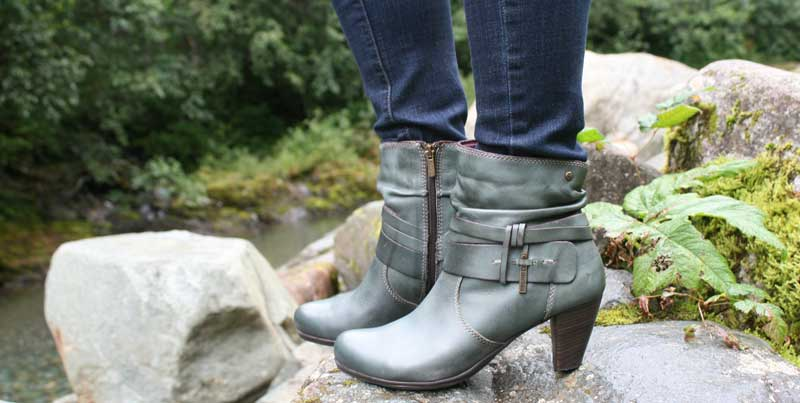 Classic boot style in an amazing color at Shoefly Alaska!