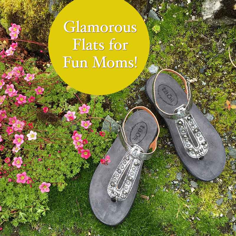 Glamorous flats for fun moms!